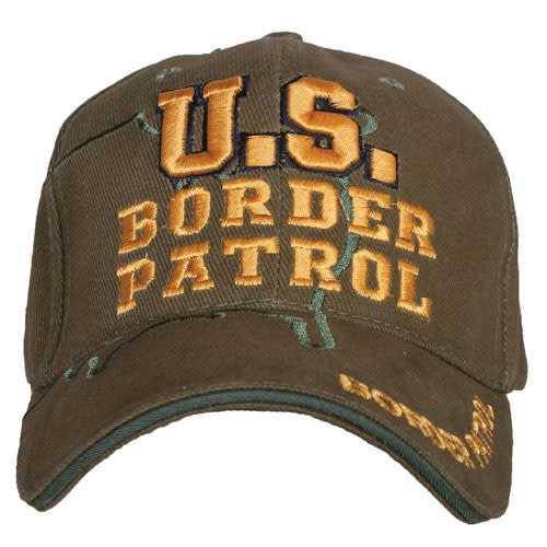 Fox Outdoor Products US Border Patrol Embroidered Ball Cap