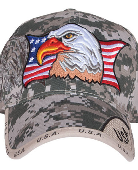 Patriotic Eagle/ACU Ball Cap