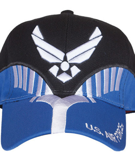 US Air Force Black/Navy Embroidered Ball Cap