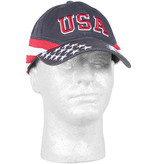 US Honor USA Stars & Stripes Embroidered Ball Cap