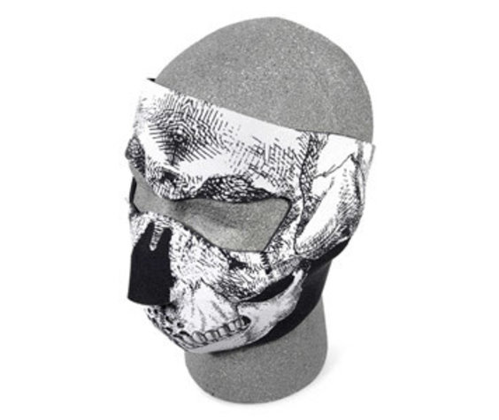 Fox Outdoor Products Neoprene Thermal Face Mask - Skulls