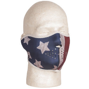 Fox Outdoor Products Neoprene Thermal Half Mask - USA