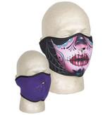 Fox Outdoor Products Neoprene Thermal Half Mask - Skulls