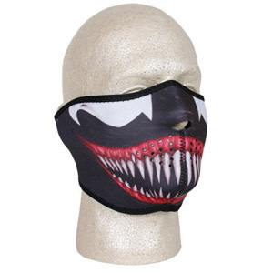 Fox Outdoor Products Neoprene Thermal Half Mask - Horror