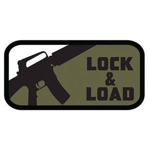 Fox Outdoor Products Lock & Load Patch