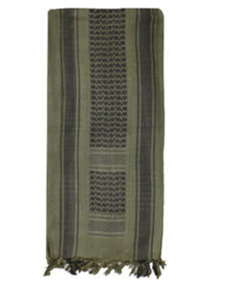Tactical Shemagh - with Olive Drab