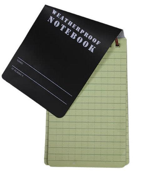 Military Style Weatherproof Notebook 3 x 5