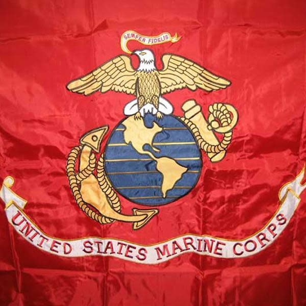 ACE World Marine Corps Double Sided Embroidered 3 x 5 Flag