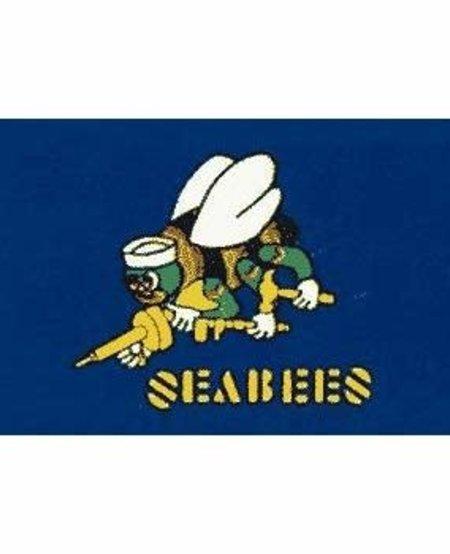 Seabees 3 x 5 Flag