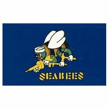 ACE World Seabees 3 x 5 Flag