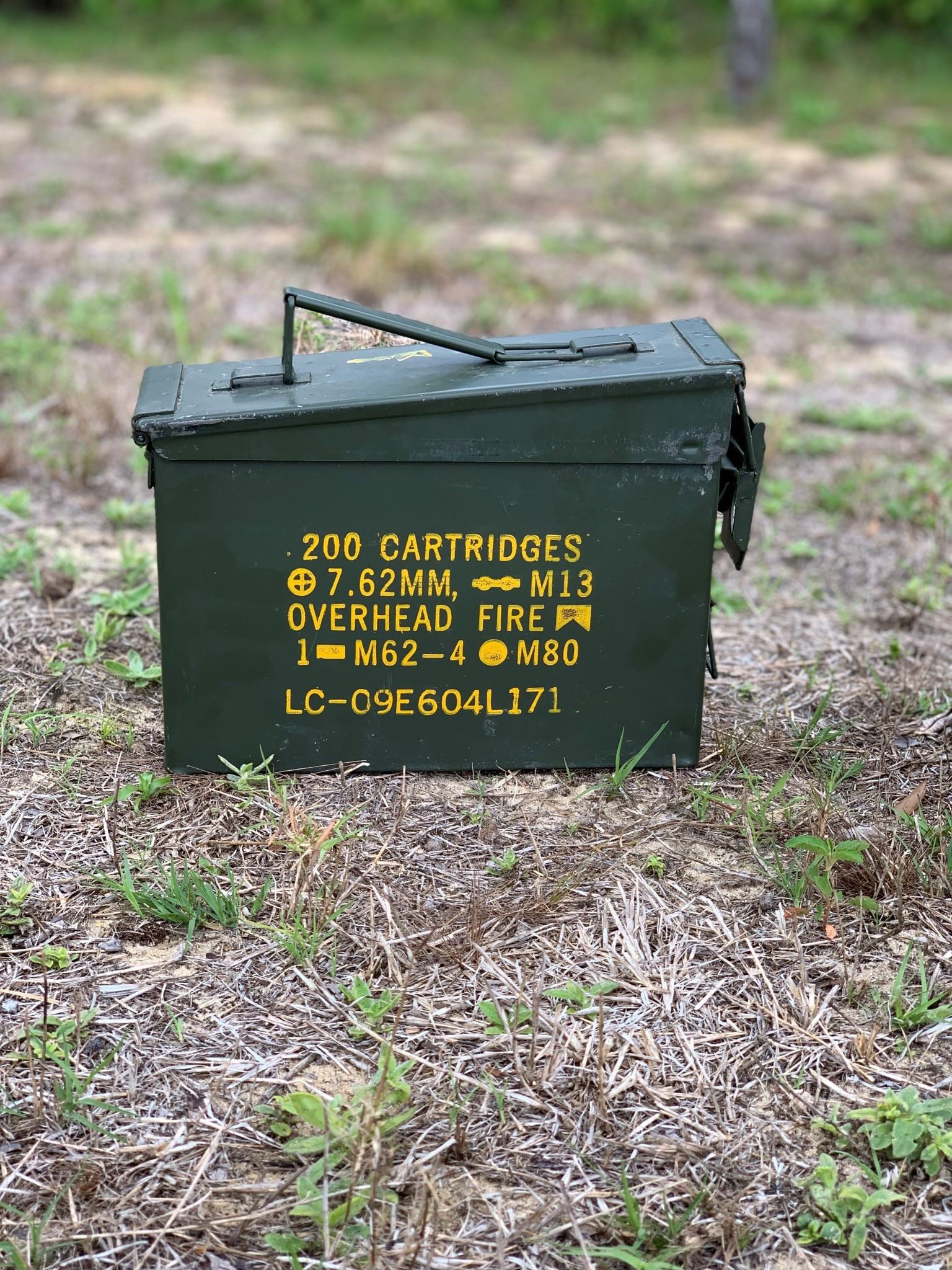.30 Caliber Ammo Cans