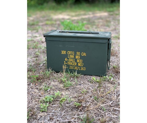Military .50 Caliber Ammo Cans