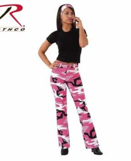 Women's Camouflage Stretch Flare Pants