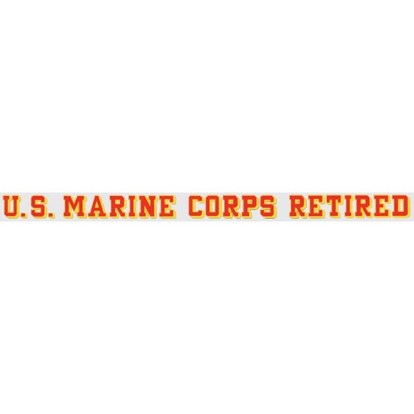 Mitchell Proffitt U.S. Marine Corps Retired Window Strip