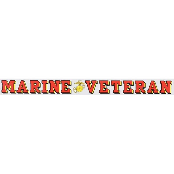 Mitchell Proffitt Marine Veteran Window Strip