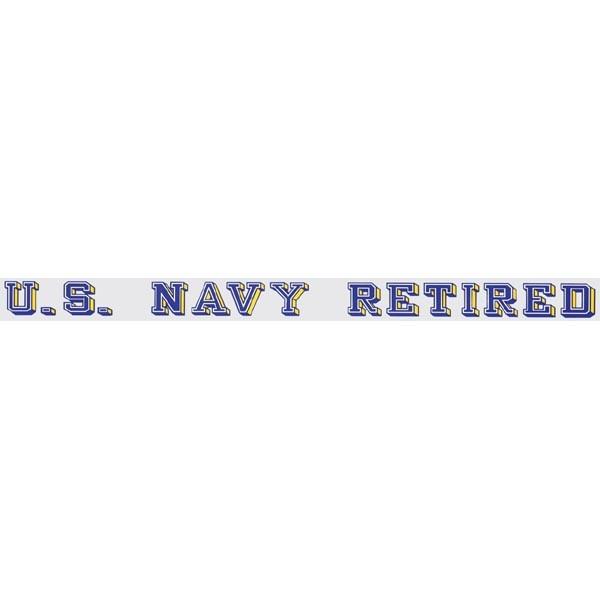 Mitchell Proffitt U.S. Navy Retired Window Strip