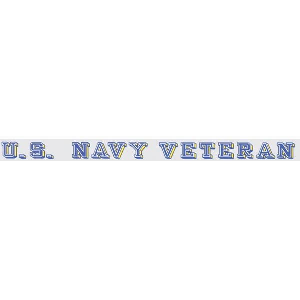 Mitchell Proffitt U.S. Navy Veteran Window Strip