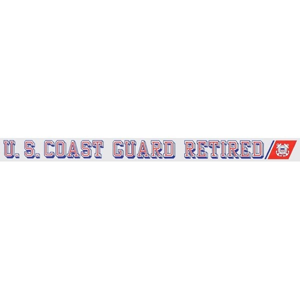 Mitchell Proffitt U.S. Coast Guard Retired Window Strip