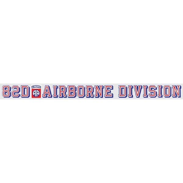 Mitchell Proffitt 82nd Airborne Division Window Strip