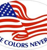 Mitchell Proffitt These Colors Never Run USA Magnet