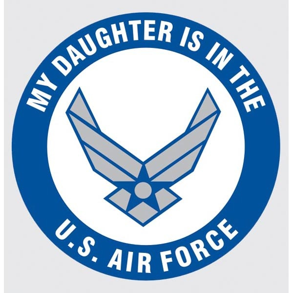 Mitchell Proffitt My Daughter is in the US Air Force w/Logo Decal