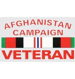 Mitchell Proffitt Afghanistan Campaign Veteran with Campaign Ribbon