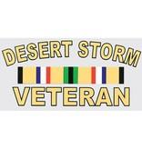 Mitchell Proffitt Desert Storm Veteran with Campaign Ribbon Decal