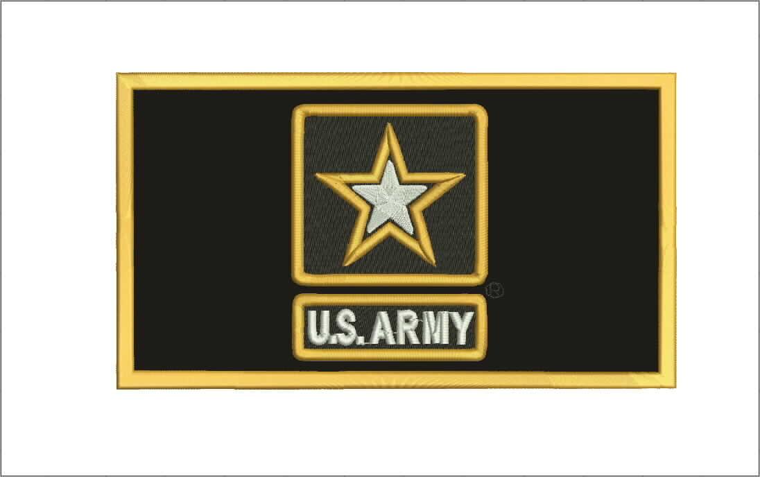 Mitchell Proffitt US Army Star Patch