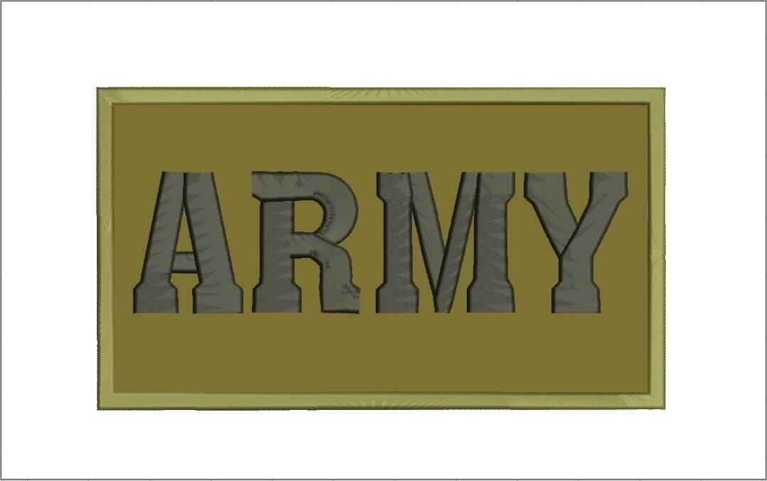 Mitchell Proffitt Army Patch