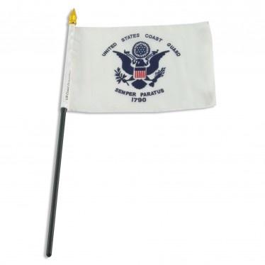 "Military 4"" x 6"" Stick Flag"