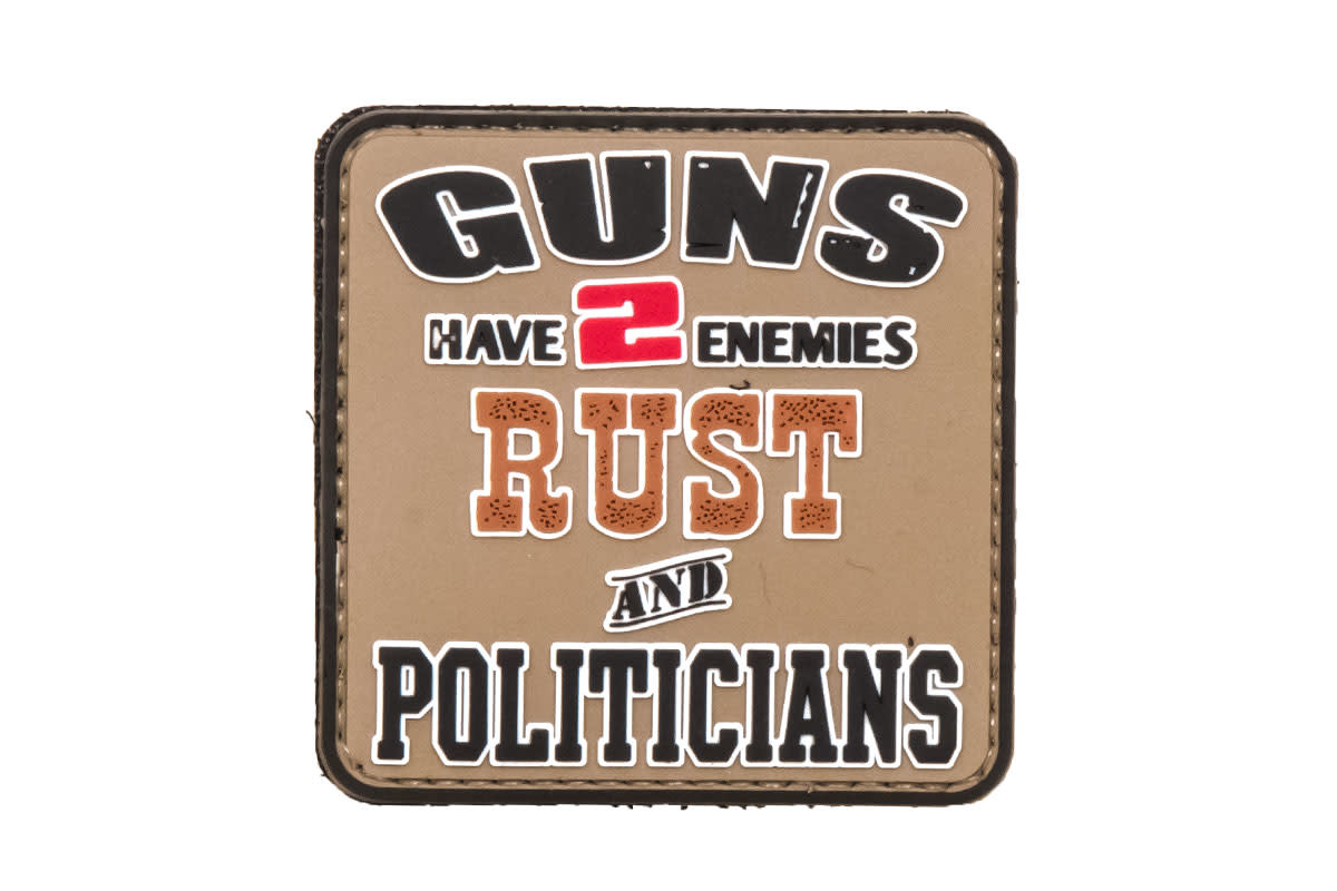 5ive Star Gear Rust and Politicians - PVC Morale Patch