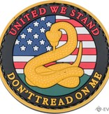 5ive Star Gear Don't Tread On Me - PVC Morale Patch - Velcro