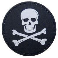 5ive Star Gear Jolly Roger - PVC Morale Patch - Velcro