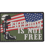 5ive Star Gear Freedom Is Not Free - PVC Morale Patch