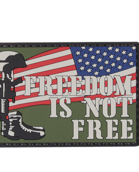 Freedom Is Not Free - PVC Morale Patch