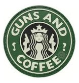 5ive Star Gear Guns & Coffee - PVC Morale Patch - Velcro