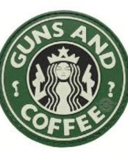 Guns & Coffee - PVC Morale Patch - Velcro
