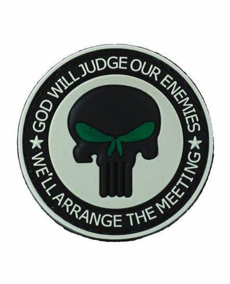 Punisher Enemies - PVC Morale Patch - Velcro
