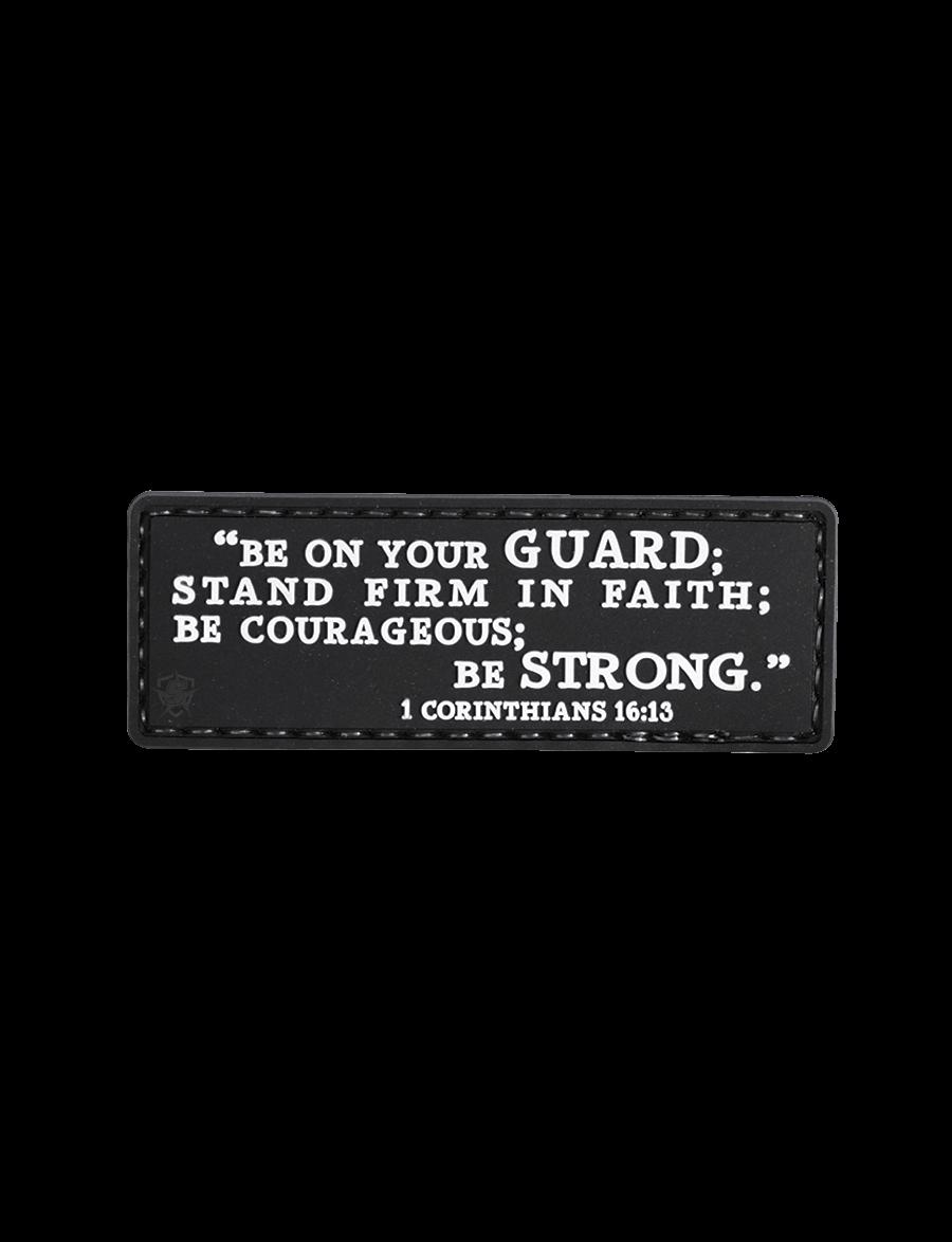 5ive Star Gear 1 Corinthians 16:13 - PVC Morale Patch - Velcro