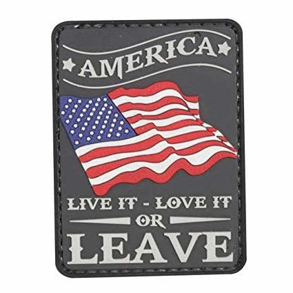 5ive Star Gear America Live It - PVC Morale Patch - Velcro