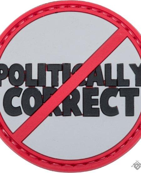 Not Politically Correct - PVC Morale Patch - Velcro