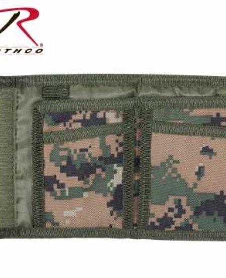 Digital Camo Commando Wallet