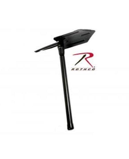 Heavy Weight Steel Handle Folding Pick & Shovel