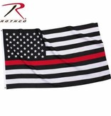 Rothco Thin Red Line 2 x 3 Flag