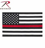 Rothco Thin Red Line 2 x 3 Flag