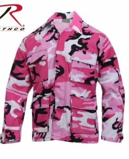 Color Camo BDU Shirt
