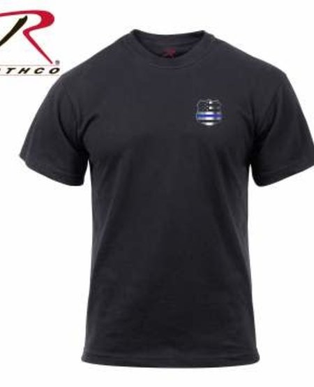 Thin Blue Line Shield T-Shirt