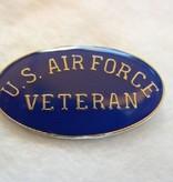 Ramsons Imports US Air Force Veteran Lapel Pin