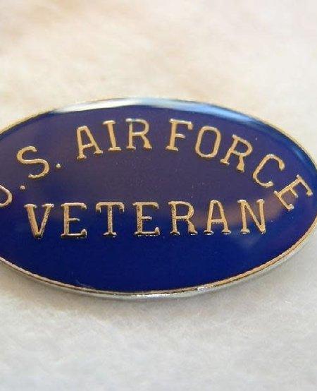 US Air Force Veteran Lapel Pin