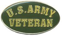 Ramsons Imports US Army Veteran Lapel Pin